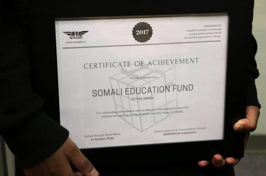 SEF Certificat