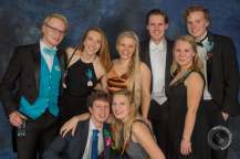 Fun gala with Sjoerd's friends!