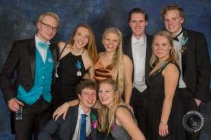 Fun gala with Sjoerd's friends!